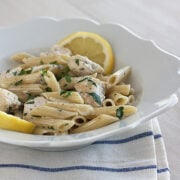 Chicken Lemon Cream Pasta