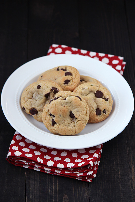 Quick & Easy Chocolate Chip Cookies for when you need to satisfy a ...
