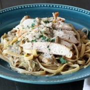 Chicken Pasta with Artichoke Cream Sauce 2