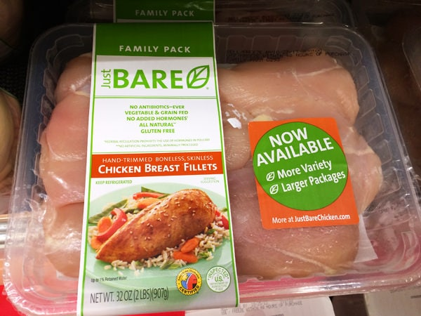 Just BARE Chicken Family Packs