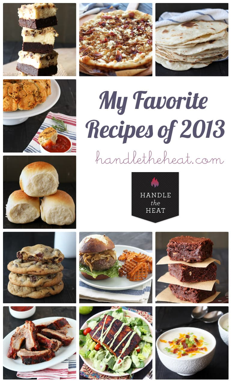 My favorite recipes of 2013 from handletheheat.com
