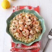 10 Minute Lemon Pepper Shrimp