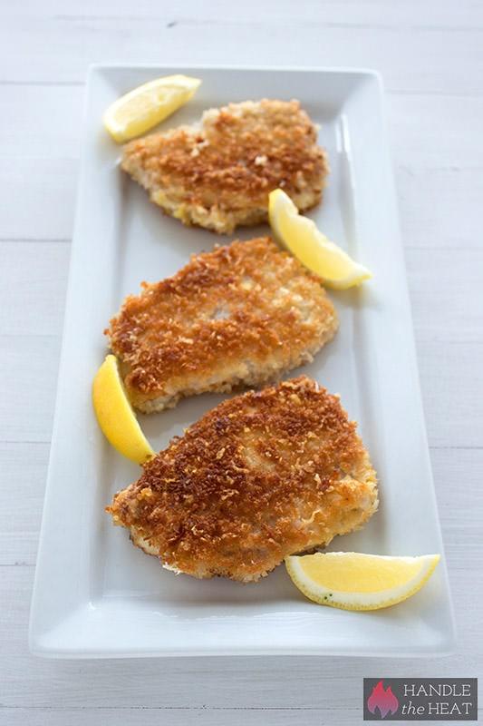 Parmesan Breaded Pork - SO crispy!