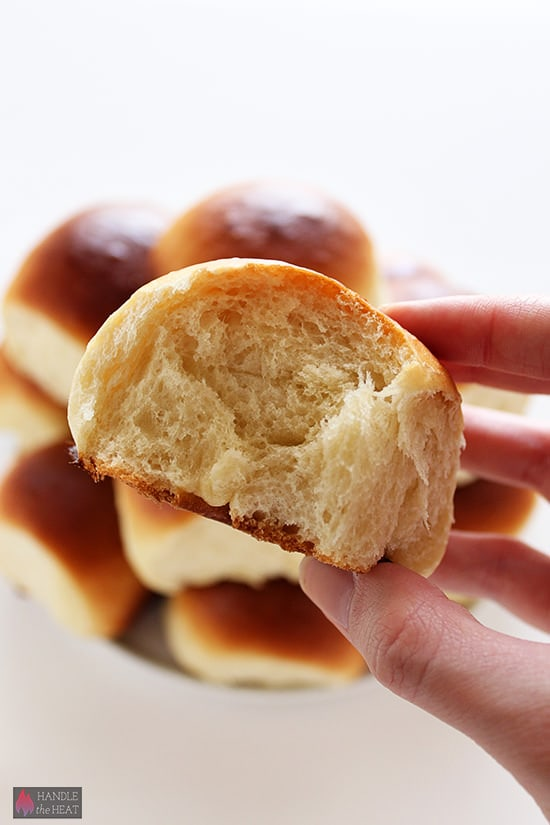 Homemade Hawaiian Bread Rolls - so soft and fluffy!