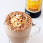 Kahlua Coconut Frozen Hot Chocolate