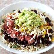 Copycat Steak Burrito Bowl Recipe