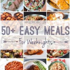 50+ Easy Meal Recipes for Fresh Weeknight Cooking
