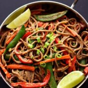 Peanutty Noodles Recipe - huge energy boosting recipe!
