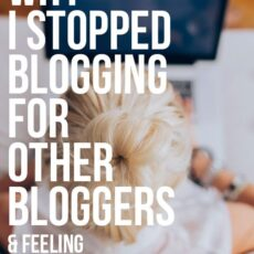 The exact mindsets and strategies that have helped me turn my blog into my dream job!
